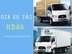 Giá xe tải HD65