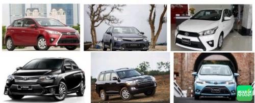 Toyota giảm giá hàng loạt mẫu xe 'hot'